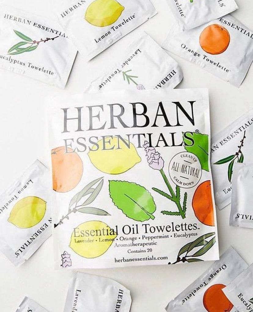 Essential Oil Towelettes