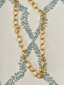 Gold Links Necklace