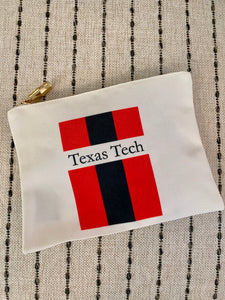 Texas Tech Pouch