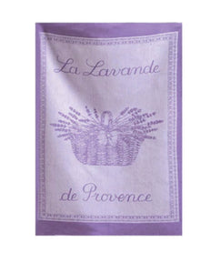 Coucke Lavender Tea Towel