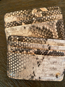 Snakeskin Credit Card Holders
