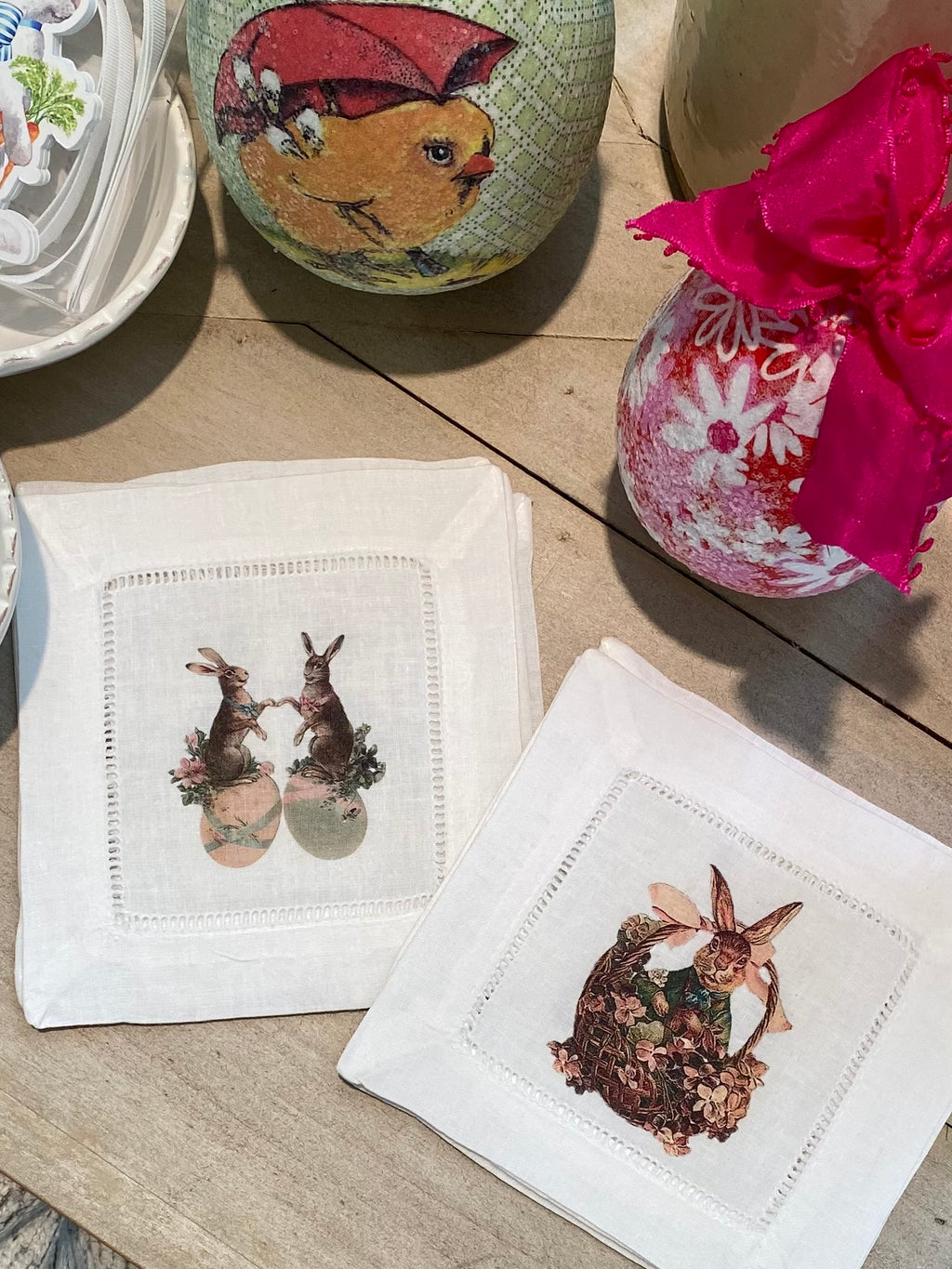 Bunny Cocktail Napkins