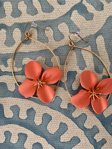 Abbie Flower Earring