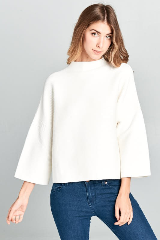 Ivory Casual Sweater