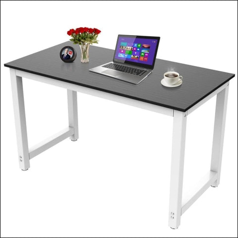 47 Computer Desk PC Laptop Study Writing Table Workstation Home office Black - SmileMart 0646253066808