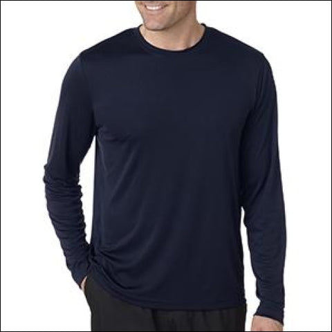Adult Cool DRI® with FreshIQ Long-Sleeve Performance T-Shirt - Hanes 0011919749232