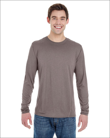 Adult Performance® Adult 4.7 oz. Long-Sleeve Tech T-Shirt,Gildan,[product_size],[product_color]