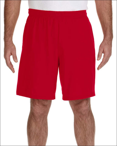 "Adult Performance® Adult 5.5 oz. 9"" Short with Pockets,Gildan,[product_size],[product_color]"