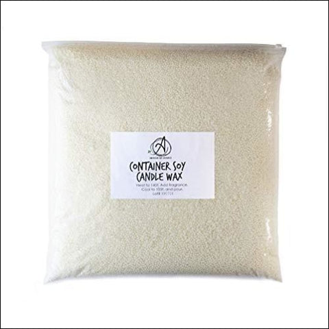 American Soy Organics Midwest Container Soy Wax: 10 lb Bag of Candle Wax for Candle Making - American Soy Organics 849564003115