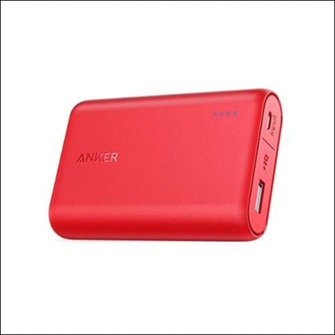 Anker PowerCore 10000 One of The Smallest and Lightest 10000mAh External Batteries Ultra-Compact High-Speed Charging Technology Power Bank