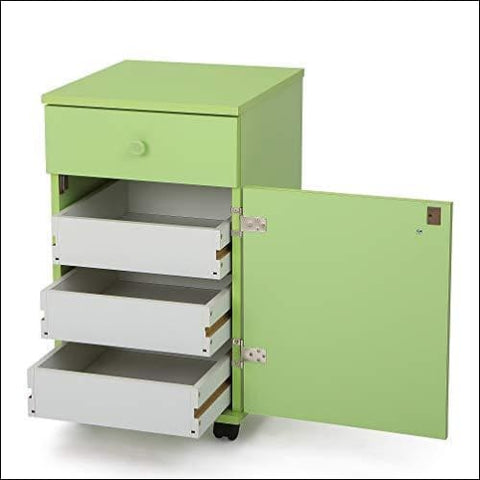 Arrow Cabinet 804 Suzi Sewing Storage Cabinet Green - Arrow Sewing Cabinets 0650873008049