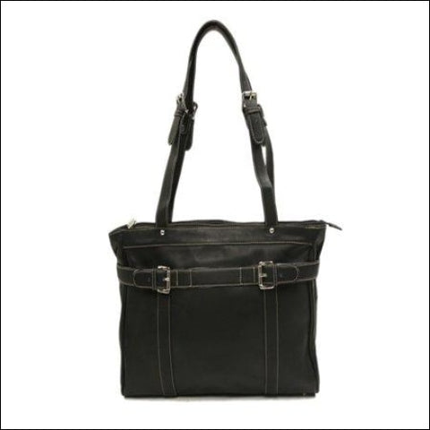 BELTED COMPUTER TOTE - Piel Leather 0721502276020