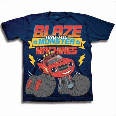 Blaze & the Monster Machines Toddler Boy Short Sleeve T-Shirt - BLAZE AND THE MONSTER MACHINES 0887648450967