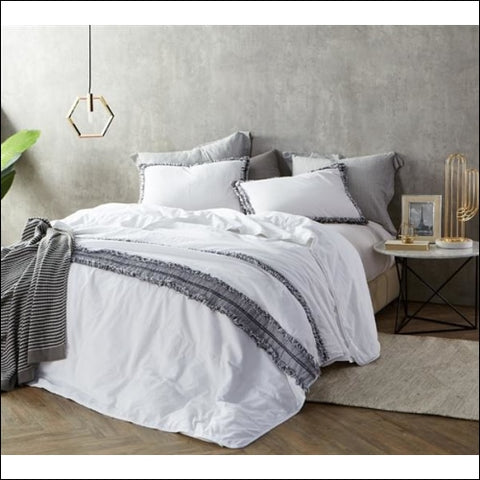 Boa Noite - 200TC Washed Percale Quilted Comforter - Byourbed 0843249163583