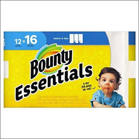 Bounty Paper Towels 12 Pack - Bounty 37000959861