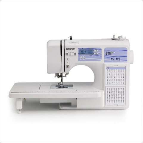 Brother Computerized Sewing and Quilting Machine HC1850 130 Built-in Stitches - Brother 0012502634089