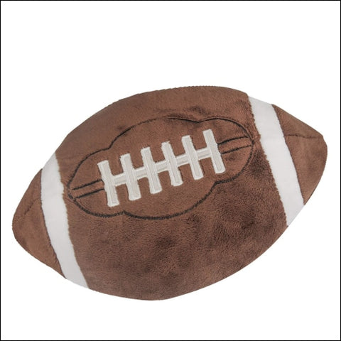 CatchStar Football Plush Pillow Fluffy Stuffed Football Sports Ball Throw Pillow Soft Durable Sports Toy Gift for Kids Room Decoration by