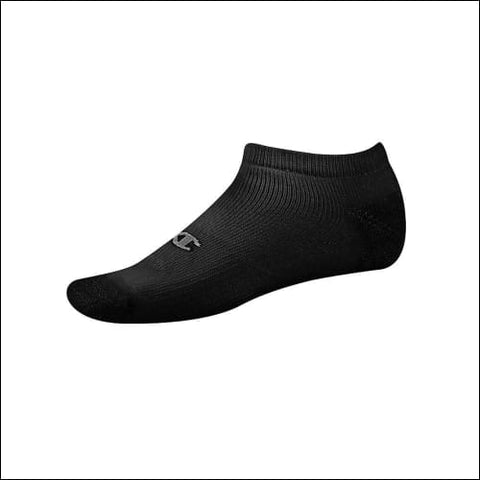 Champion Double Dry® Performance Mens Low-Cut Socks 6-Pack - Black / 43751 - Champion 0038257074949