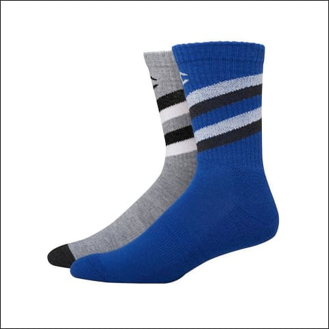 Champion Mens Performance Crew Socks 2-Pack - Grey Color Front Assorted / 43751 - Champion 0038257132014