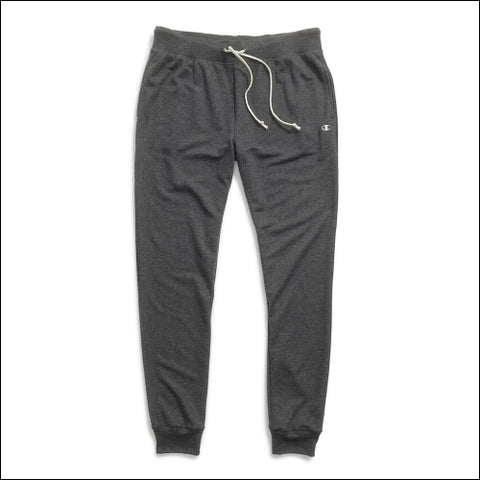 Champion Womens French Terry Jogger Pants - Granite Heather / S - Champion 0090563300112