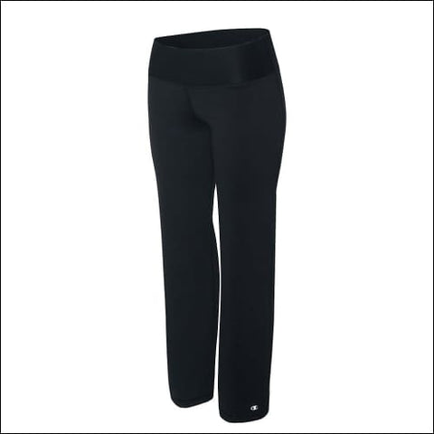 Champion Womens Plus Absolute Semi-Fit Pants with SmoothTec™ Band - Black / XL - Champion 090563112821