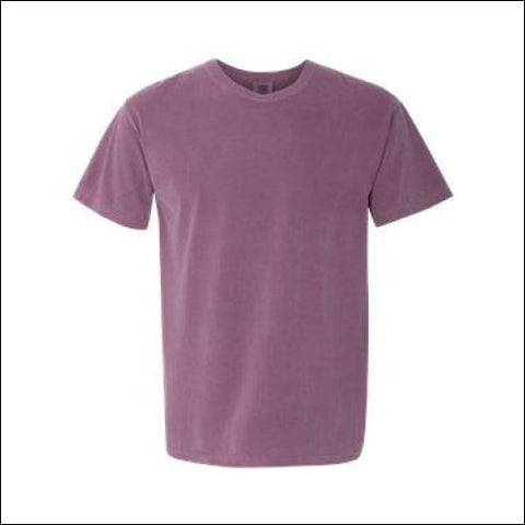 Comfort Colors - Garment Dyed Heavyweight Ringspun Short Sleeve Shirt - Berry / S - Comfort Colors 884074019098