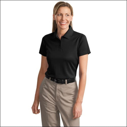 CornerStone - Ladies Select Snag-Proof Polo. CS413 - Black / M - CornerStone 191265274937