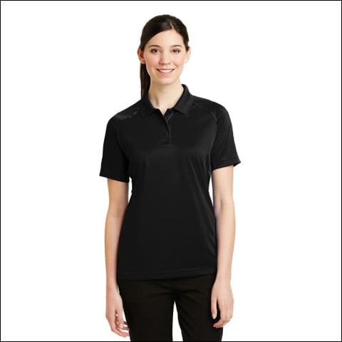 CornerStone - Ladies Select Snag-Proof Tactical Polo. CS411 - Black / XS - CornerStone 191265128933