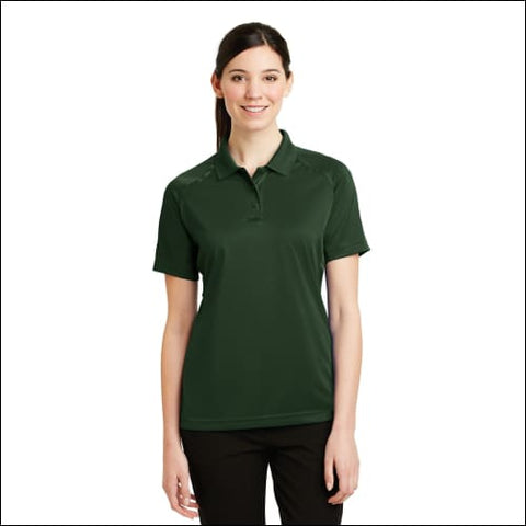CornerStone - Ladies Select Snag-Proof Tactical Polo. CS411 - Dark Green / XS - CornerStone 191265129084