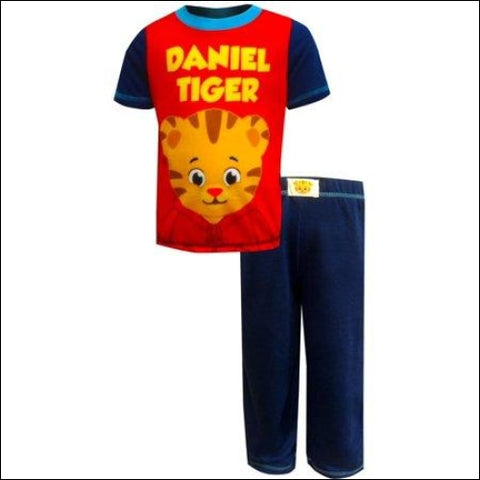 Daniel The Tigers Neighborhood T-Shirt & Pants 2Pc Pajama Set (Toddler Boys) - Daniel the Tigers Neighborhood 0000716632069