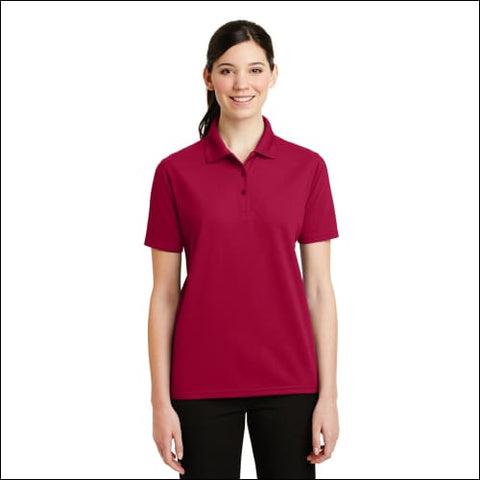 DISCONTINUED CornerStone - Ladies Industrial Pique Polo. CS403 - Red / XS - CornerStone 191265126922