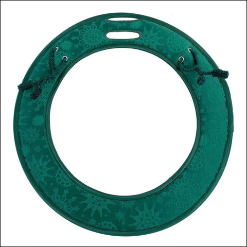 [Door Protecting Holiday Wreath Pad] - Prevent Damage to Front Door - Fits 24 to 26 Inch Wreaths - Padding Prevents Scratches Dings and