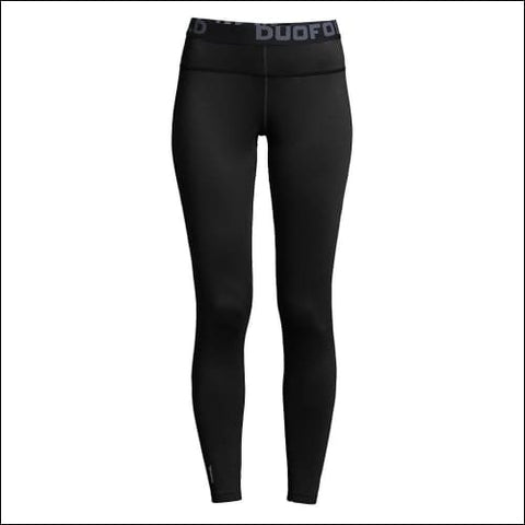 Duofold by Champion Brushed Back WomenÇÖs Pants - Black / S - Duofold 0078715628758