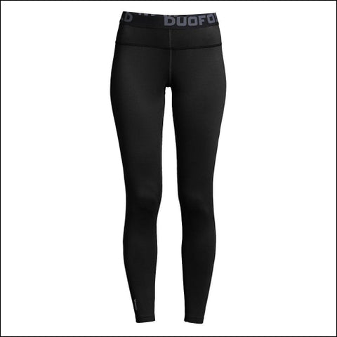 Duofold by Champion Brushed Back Womens Pants - Black / S - Champion 0078715628758