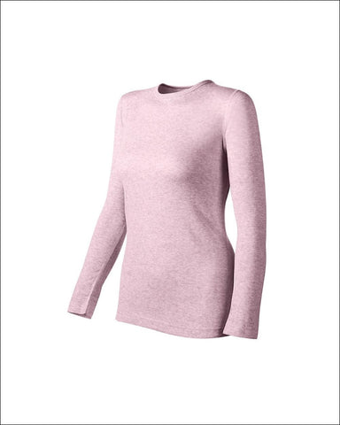 Duofold by Champion Originals Mid-Weight Womens Thermal Shirt - KWM1 - Berry Pink Heather / M - Duofold 043935437411