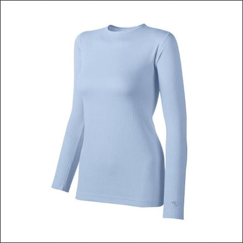 Duofold by Champion Thermals Womens Base-Layer Shirt - Frost / S - Duofold 0043935436148