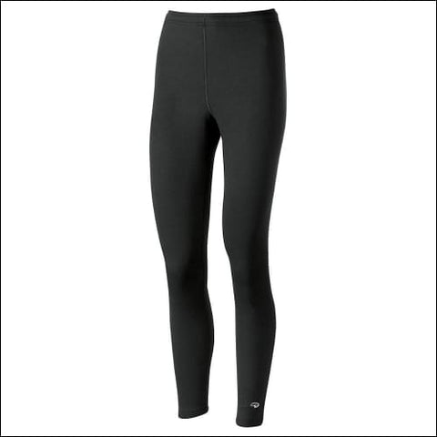 Duofold by Champion Varitherm Performance Womens Thermal Pants - Black / L - Duofold 0043935435615
