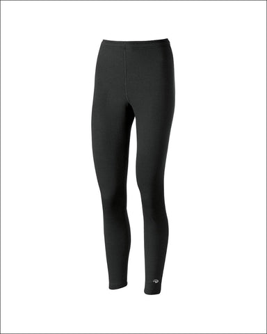 Duofold by Champion Varitherm Performance Womens Thermal Pants - KEW4 - Black / S - Duofold 043935435592