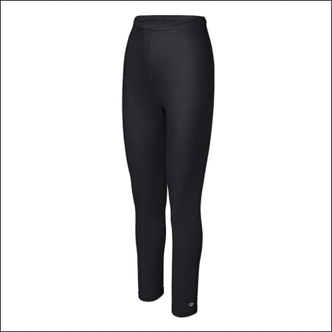 Duofold by Champion Varitherm Womens Base-Layer Thermal Pants - Black / L - Duofold 0043935435066