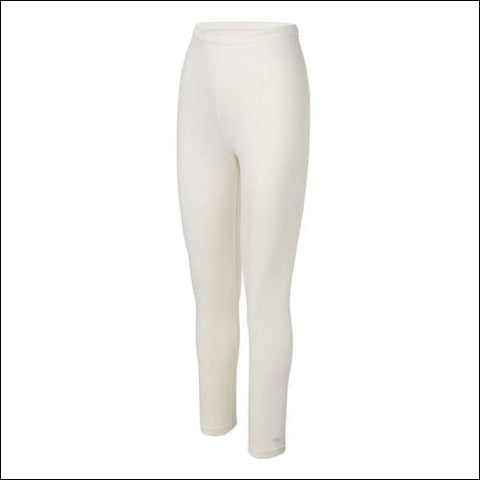 Duofold by Champion Varitherm Womens Base-Layer Thermal Pants - Pearl / S - Duofold 0043935435127