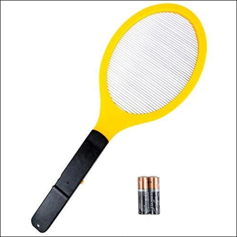 Elucto Large Electric Bug Zapper Fly Swatter Zap Mosquito Best for Indoor and Outdoor Pest Control (2 DURACELL AA Batteries Included) -