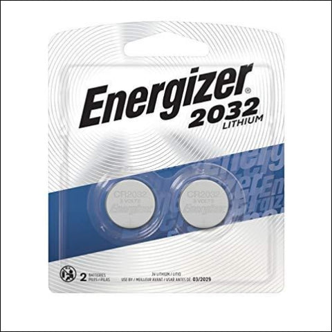 Energizer 2032 Batteries 3 Volts 2Pack (Packaging may vary) - Energizer 39800066114