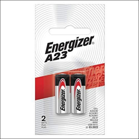 Energizer Alkaline Batteries A23 (2 Battery Count) - Packaging May Vary - Energizer 39800035875