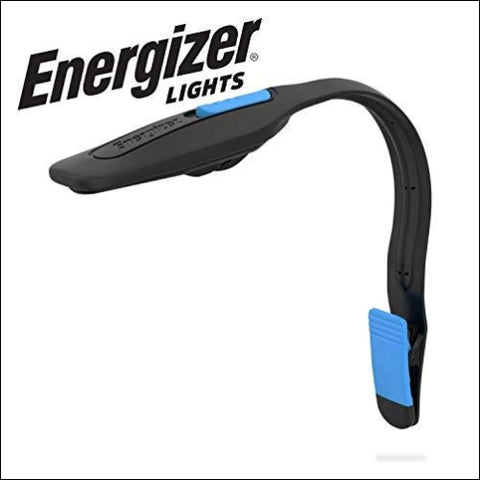 Energizer Clip on Book Light for Reading in Bed LED Reading Light for Books and Kindles 25 Hour Run Time Kindle & Book Reading Lamp