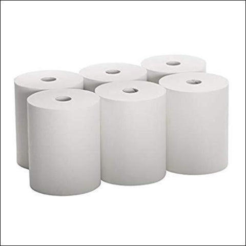 EnMotion-Compatible High Capacity (Tad) Paper Towels 10 Inch Wide Rolls (6 Rolls) Premium Quality - CulinPro 0672168001429