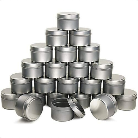 EricX Light Candle Tin 24 Piece 4 oz for Candle Making - EricX Light