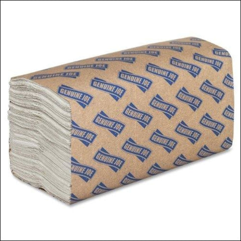 Genuine Joe GJO21120 C-Fold Paper Towels (Pack of 2400) - Genuine Joe 704452302551
