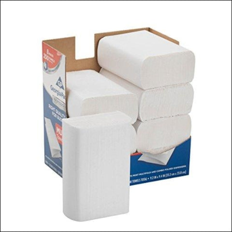 Georgia-Pacific Professional Series Premium 1-Ply Multifold Paper Towels by GP PRO (Georgia-Pacific) White 2212014 250 Towels Per Pack 8