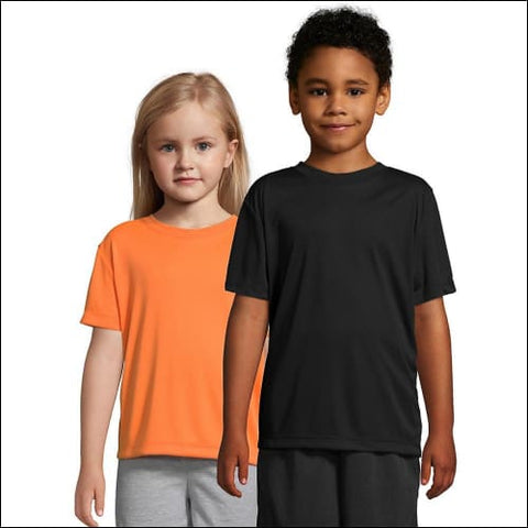 Hanes Boys CoolDri Short Sleeve Tee Value Pack (3-pack) - Black / S - Hanes 078715811860