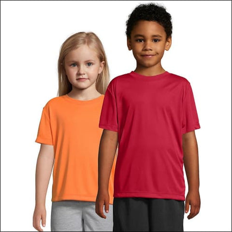 Hanes Boys CoolDri Short Sleeve Tee Value Pack (3-pack) - Deep Red / S - Hanes 078715811914